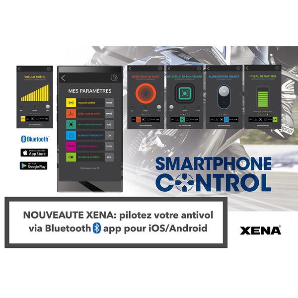 Bloque Disque Alarme XX15 Bluetooth SRA