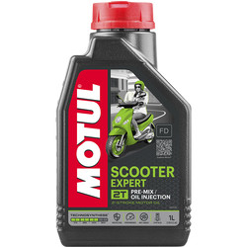 Huile 2T Scooter Expert 1L Motul