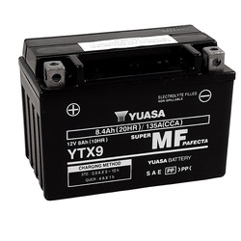 Batterie YTX9-BS SLA AGM Yuasa
