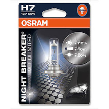 Ampoule H7 Night Breaker Osram