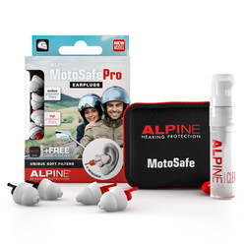 Bouchons d'oreilles MotoSafePro® Alpine