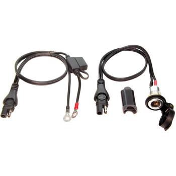 Câble de batterie permanent OptiMate O-18 TecMate