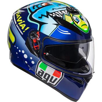 Casque K3 SV Rossi Misano 2015 AGV