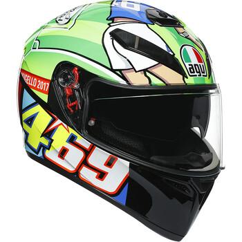 Casque K3 SV Rossi Mugello 2017 AGV