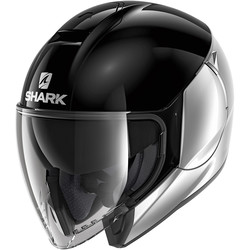 Casque City Cruiser Dual Blank Shark