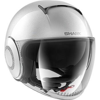 Casque Nano Crystal Swarovski® Shark