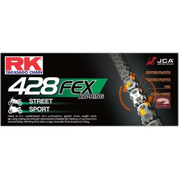 Chaîne de transmission 428FEX RK