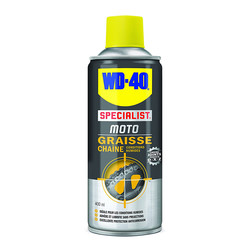 Graisse chaîne conditions humides 400 ml WD-40