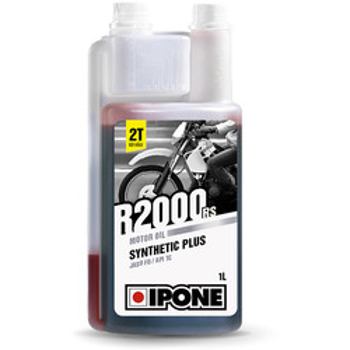Huile moteur semi-synthétique R2000 RS - moto 2 temps Ipone