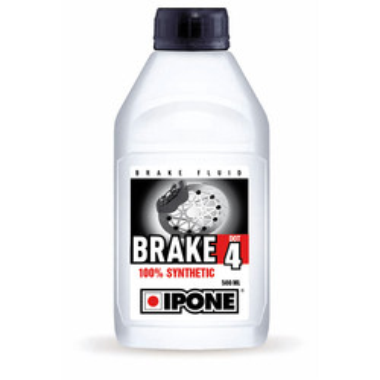 Liquide de frein et d'embrayage Brake Dot 4 500 ml Ipone