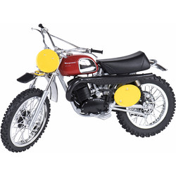 Maquette 1/12e Husqvarna Cross 400/70 Steve Mc Queen Sunimport