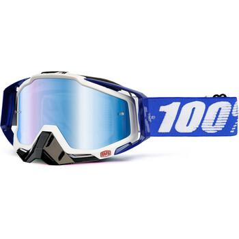 Masque Racecraft Cobalt Blue - Blue Mirror 100%