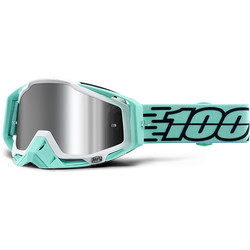 Masque Racecraft + Fasto - Injected Silver Chrome Lens 100%