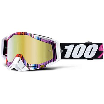 Masque Racecraft Glitch - Gold Mirror 100%