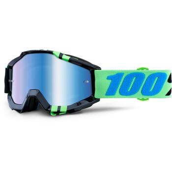 Masque Accuri Zerg Mirror Blue Lens 100%