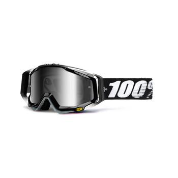 Masque Racecraft Abyss Black Mirror Lens 100%