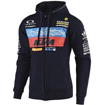 Sweat Zippée Team KTM Zip Up Troy Lee Designs