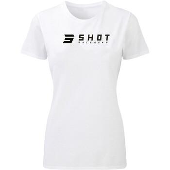 T-shirt femme White Team 2.0 Shot