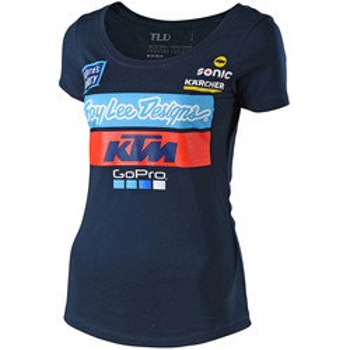 T-shirt femme KTM Team 2018 Troy Lee Designs