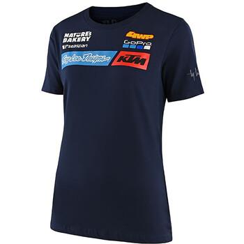 T-shirt femme Sponsors KTM Team 2020 Troy Lee Designs