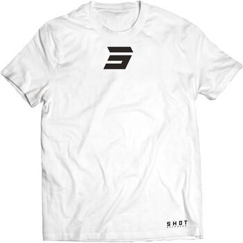 T-shirt White Symbol Shot