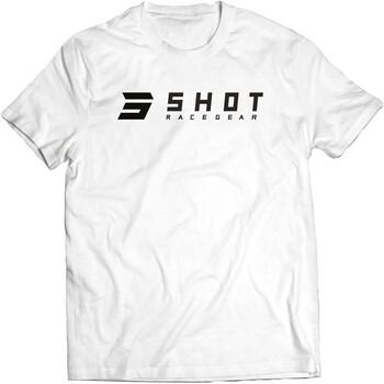 T-shirt White Team 2.0 Shot